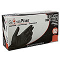 GPNB46100 - AMMEX GlovePlus Industrial Black Nitrile Gloves, Powder Free, 5 mil, X-Large (Box of 100)