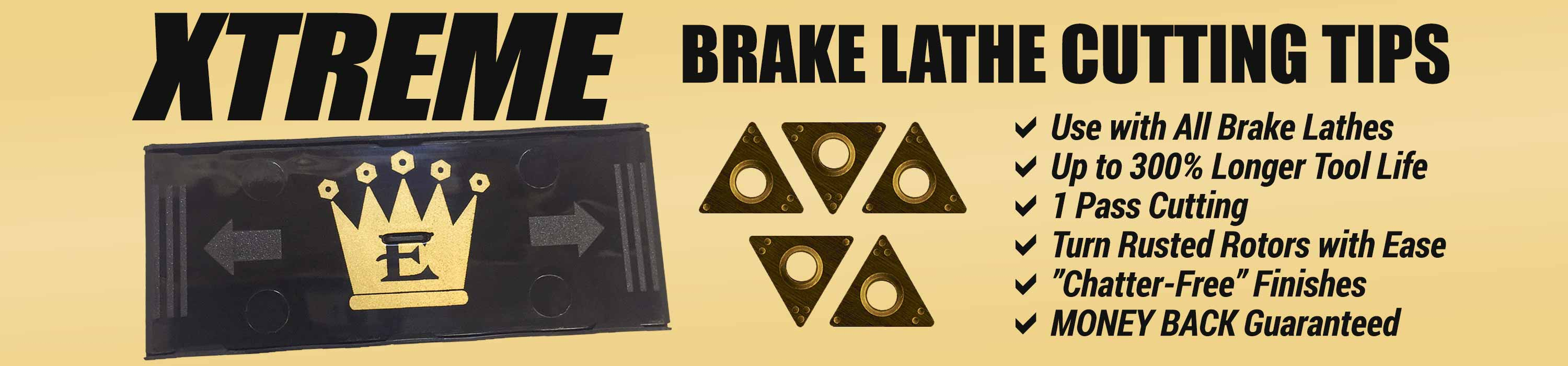 XTREME Brake Lathe Cutting Tips - Only at Eisenking